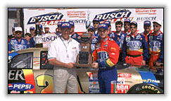 Victory in the Busch Clash