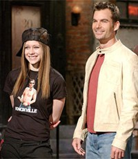 Avril and Jeff